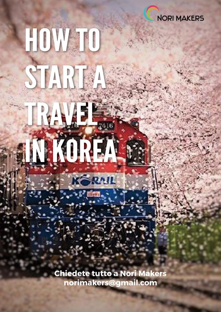 How to start travel in korea